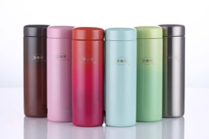 Stainless Steel Double Wall Vacuum Cup Travel Water Bottle SVC-200c pictures & photos