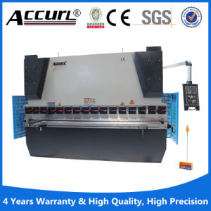 100 Ton Hydraulic Press for Bending Metal Sheet Plate with Servo Engine pictures & photos