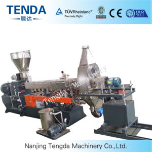 Small Plastic Masterbatch Compound Granulator Parallel Twin Screw Extruder pictures & photos