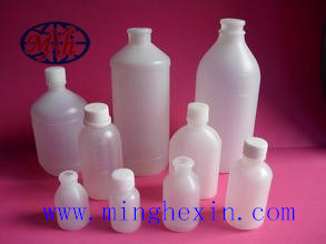White Plastic Bottle with ISO SGS pictures & photos