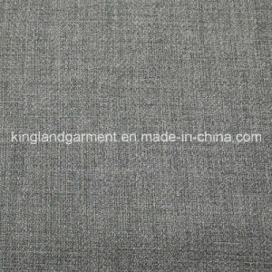 Polyester Inherently Fire/Flame Retardant Fireproof Linen Look Black-out Fabric pictures & photos