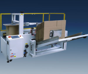 Automatic Carton Opening and Bottom Sealing Machine (KXJ40) pictures & photos