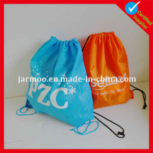 Custom Nylon Red Green Backpack Wholesale pictures & photos