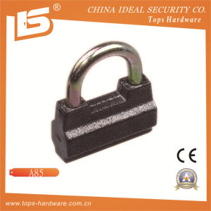 Russia Type Plastic Plated Iron Padlock (A85) pictures & photos