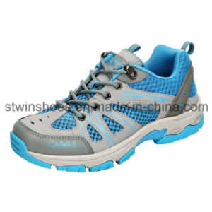 Footwear Outdoor Leather Sports Shoes for Women (ST1602)