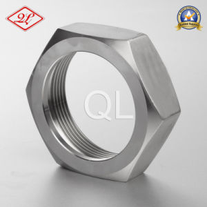 Saniatary Stainless Steel Bevel Seat Fitting Hex Union Nut (3A) pictures & photos