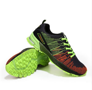 Sports Running Shoes Lace up Casual Footwear for Men (AKCS4) pictures & photos