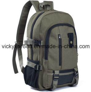 Canvas Double Shoulder Leisure Laptop Computer Notebook Bag Backpack (CY3362) pictures & photos