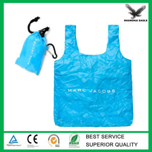 210d Polyester Folding Vest Bag with Hang Pouch pictures & photos