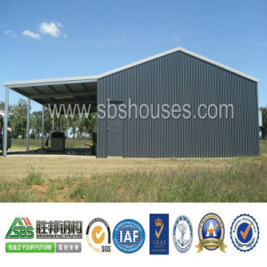 Prefab Steel Structure Storage Workshop Shed pictures & photos
