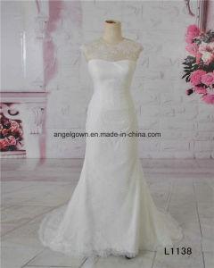 2016 Guangzhou Sheath Vintage Lace Wedding Dresses Bridal Gowns pictures & photos