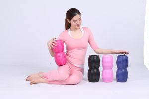 New Design Peanut Shape Hollow Yoga Roller pictures & photos