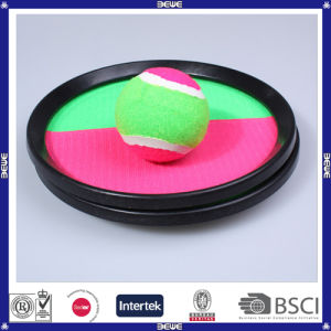 Cheap Price Sports Toys Plastic OEM Logo Colorful Plastic Catch Ball Set pictures & photos