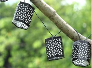 Solar Narval Metal Lantern String Light pictures & photos