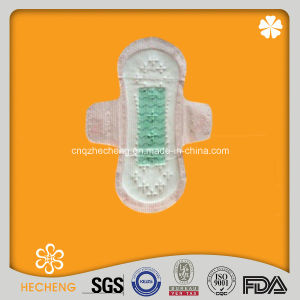 180mm Ladies Waterproof Sanitary Pads, Anion Sanitary Towel pictures & photos