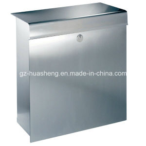 Outdoor Standing Two Legs Stainless Steel Mailbox (HS-MB-008) pictures & photos