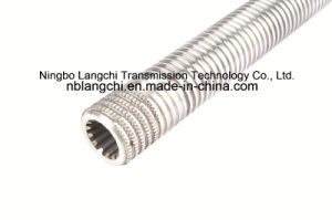 Stainless Steel Hollow Trapezoidal Thread Rod Lead Screw pictures & photos