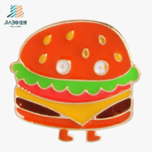 Supply Factory Cheap Custom Food Metal Enamel Badge pictures & photos