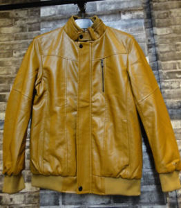 High Grade Motorcycle Men Leather Jacket PU Shell Fabric pictures & photos
