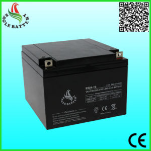 12V 24ah Mf Sealed Lead Acid Battery for Medical Equipment