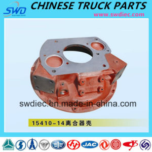 Genuine Clutch Housing for Fast Gearbox Truck Spare Part (15410-14)