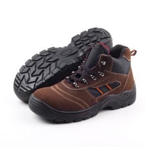Hiking Suede Leather Safety Boot (SN5116) pictures & photos
