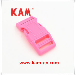 High Quality Plastic Pink Adjustable Side Release Buckle with Fashion Design