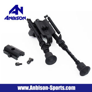 "6-9"" Spring Rifle Shooter Bipod W/20mm Ris Rail Adaptor pictures & photos"