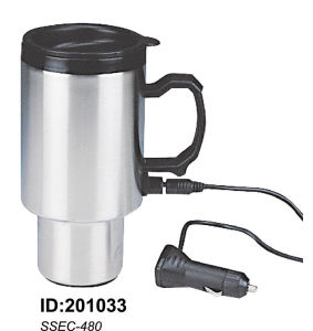 Stainless Steel Vacuum Double Wall Auto Car Mugs New Ssec-480 pictures & photos