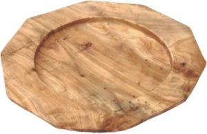 Natural Color #2570 Handly Carved Wooden Fir Root Serving Tray