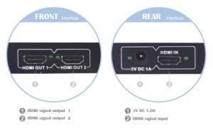 1X2 HDMI Splitter 4k*2k pictures & photos