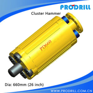 Pd660 Cluster Hammer for Pipling pictures & photos