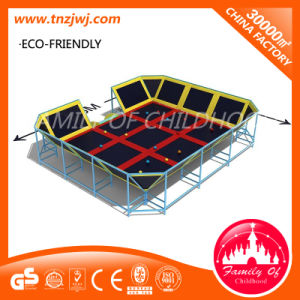 High Quality Indoor Fitness Trampoline Bed Gymnastics Trampolines for Sale pictures & photos