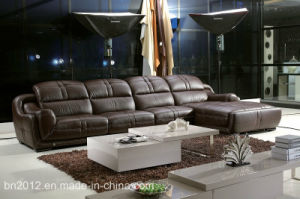Living Room Genuine Leather Sofa (SBO-9110) pictures & photos