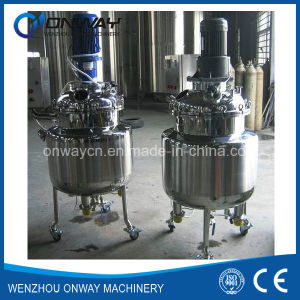 Pl Stainless Steel Jacket Emulsification Mixing Tank Oil Blending Machine pictures & photos