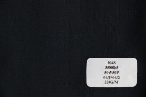 Three Colors Plain Weave Wool Fabric in Ready Stock pictures & photos
