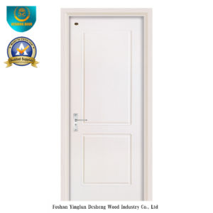 Modern Style White Color Wood Door for Interior (ds-104) pictures & photos