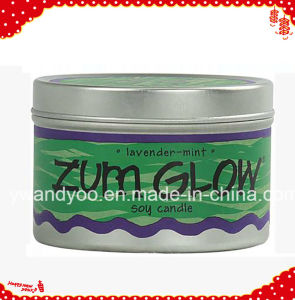 Zum Glow Soy Scented Handmaede Party Candle in Tin pictures & photos