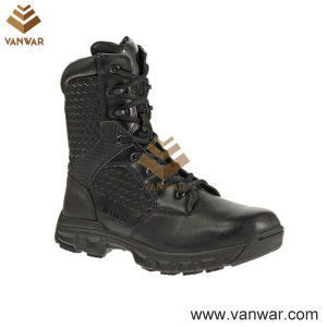 Black Tactical Military Boots for Army Soliders (WTB026) pictures & photos