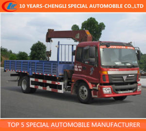 Foton 4*2 190HP Truck with Crane pictures & photos