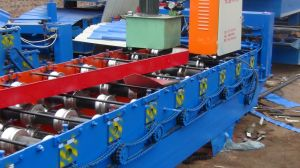 Dx Glazed Tile Cold Roll Forming Machine pictures & photos