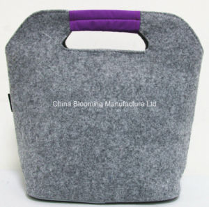 Foldable Aluminum Foil Heat Preservation Cooler Picnic Lunch Bag pictures & photos