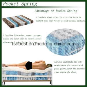 Pillow Euro Top Pocket Spring Mattress pictures & photos