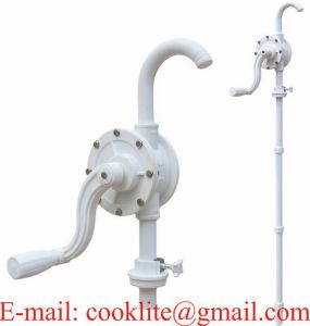 Plastic Rotary Vane Hand Crank Fuel / Chemical / Liquid Transfer Pump Drum Dispenser pictures & photos