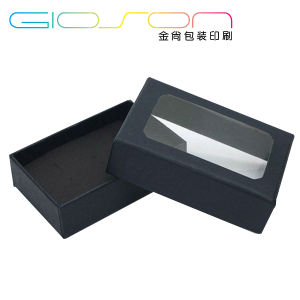 Custom Paper Packaging Box/ Jewellery Box with Window pictures & photos