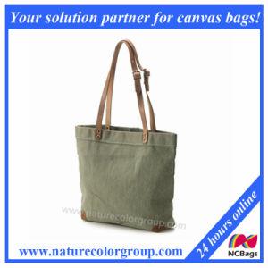 Leisure Cotton Canvas Ladies Handbag pictures & photos