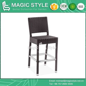 Rattan Bar Chair Outdoor Bar Stool (Magic Style) pictures & photos