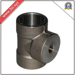 Carbon Steel ASME NPT Female Equal Tee (YZF-F346) pictures & photos