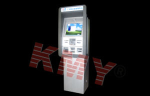 Desktop Kiosk Terminal with Bill Validator for Banking pictures & photos