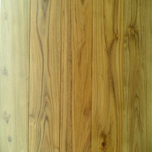 Antique Golden Color Chinese Teak Solid Wood Flooring pictures & photos